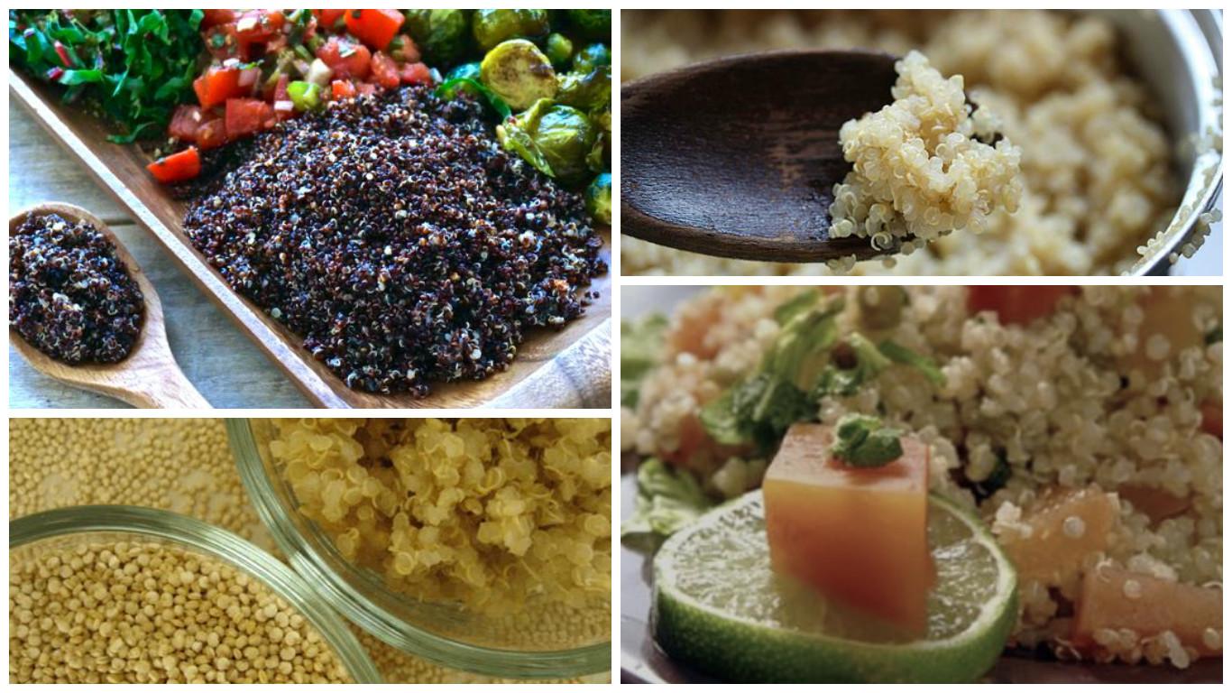Cómo preparar los mejores platos con quinoa