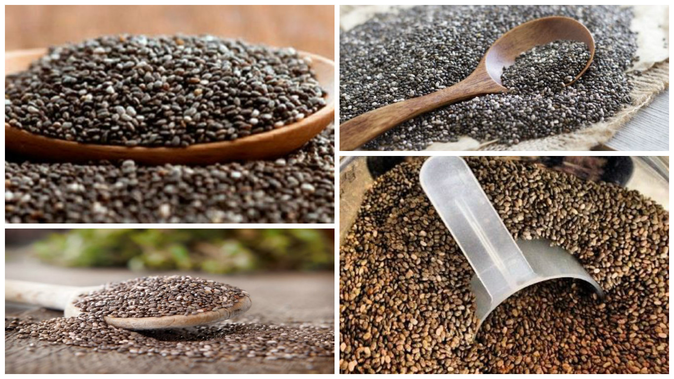 Semillas de chía y omega 3