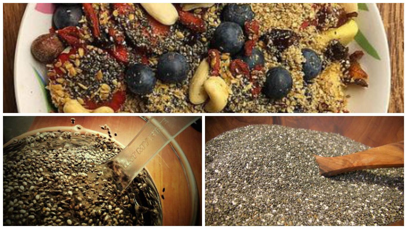 ¿Para qué sirven las semillas de chía?