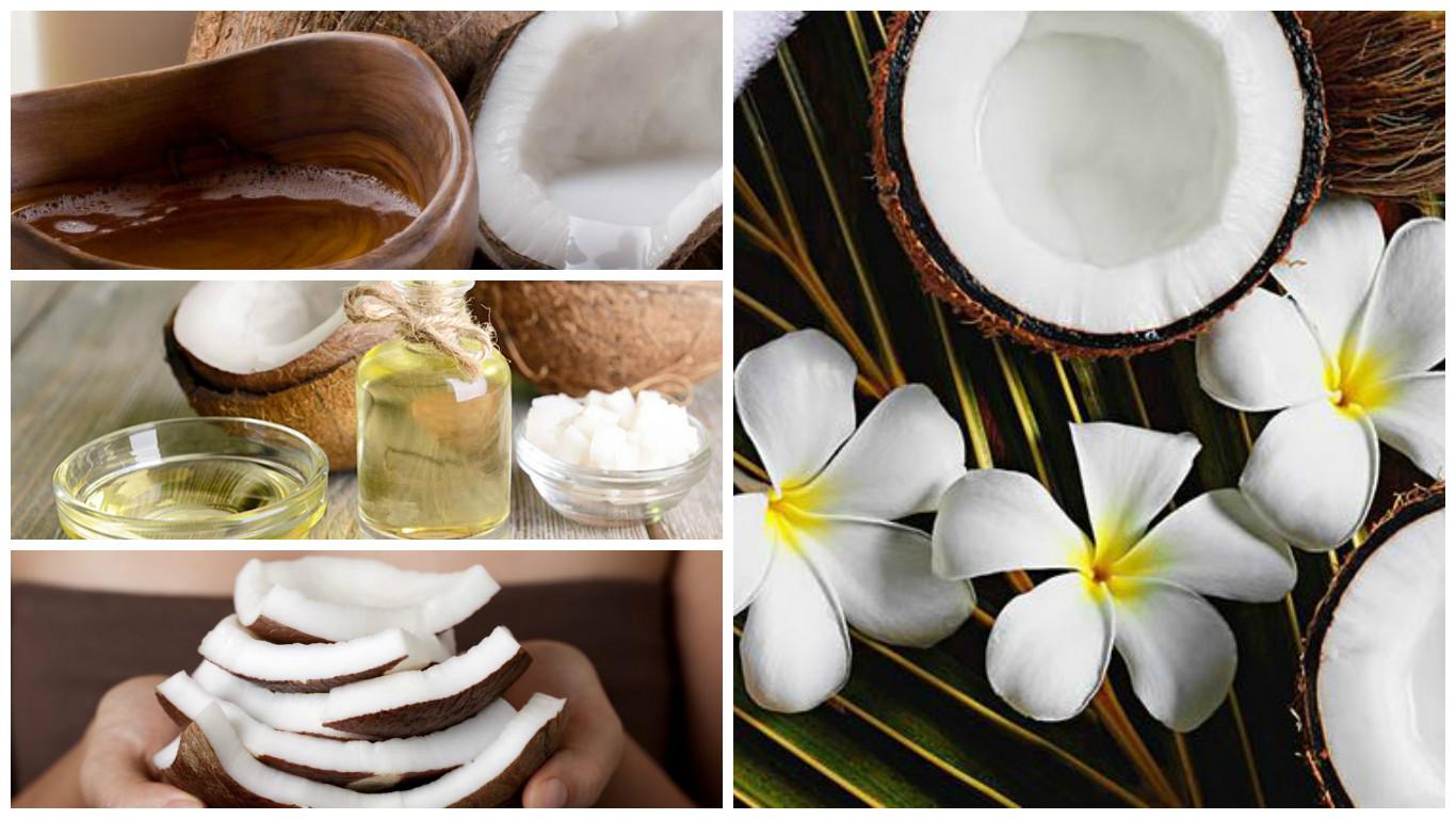 10 usos del aceite de coco para tu belleza
