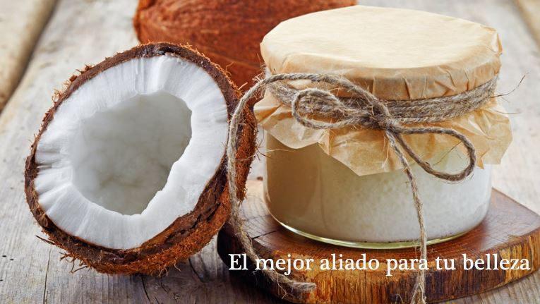 Usar cremas, geles y exfoliante de coconut