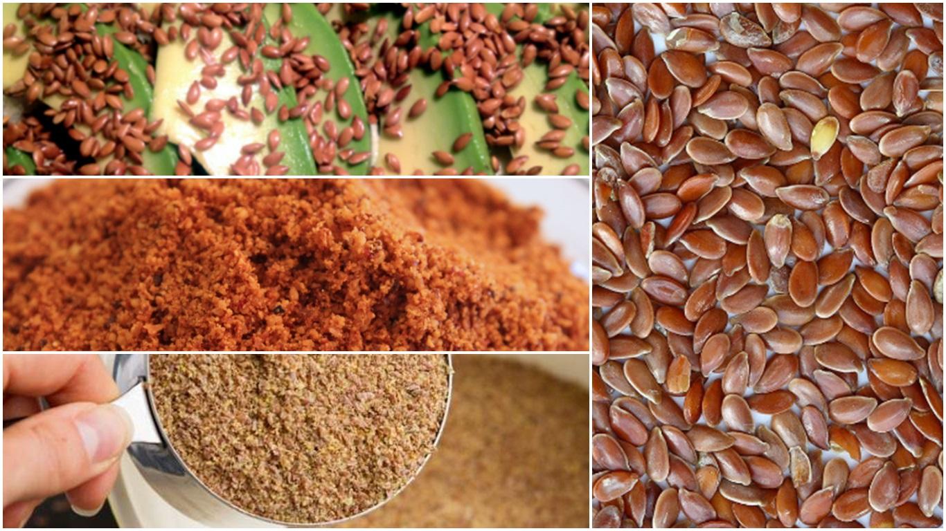 Cómo tomar semillas de lino